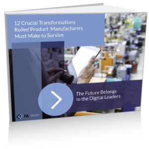 eBook - 12 Crucial Transformations Rolled Product Manufacturers Must Make to Survive