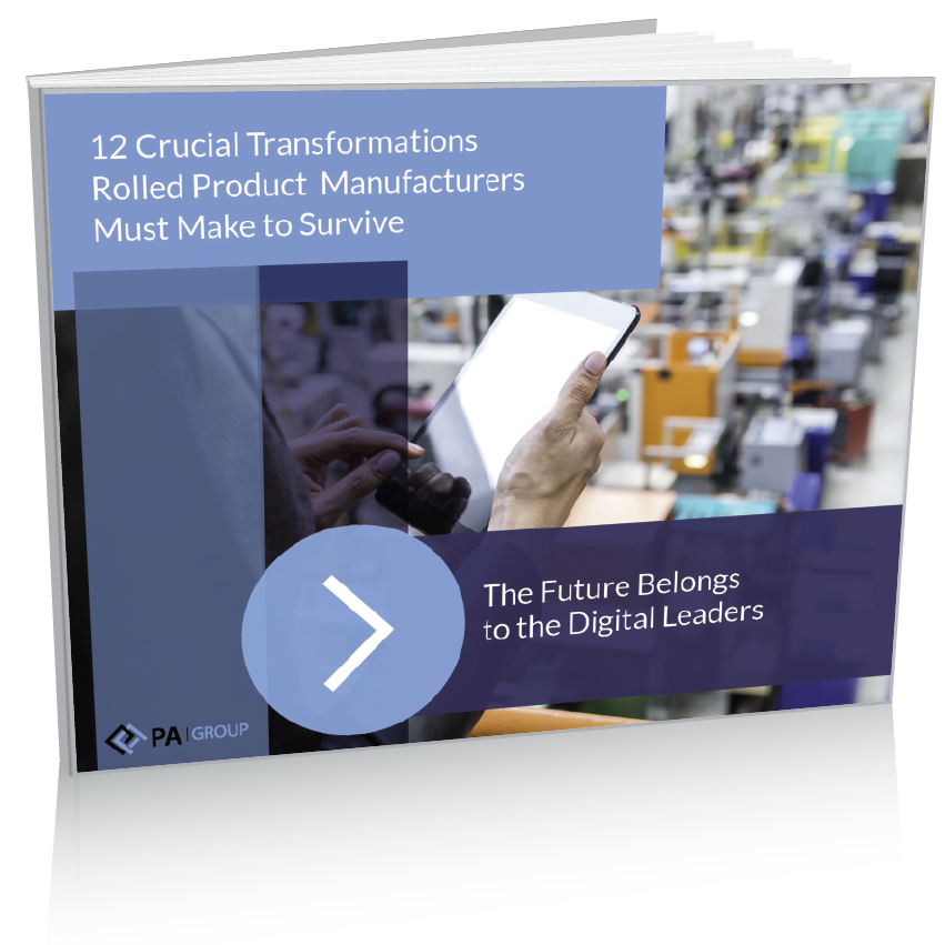 PA Group eBook - 12 Crucial Transformations Rolled Product