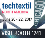 Techtextil 2017 - PA Group booth #1241